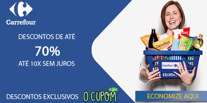 Descontos exclusivos Carrefour Ocupom